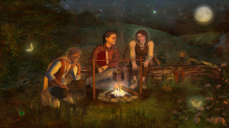 When I was a kid I would camp out under the stars with my invisible hobbit friends.